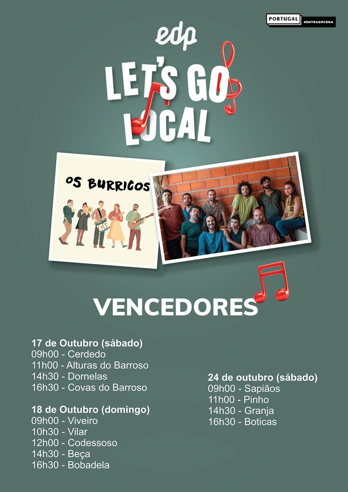 EDP LET´S GO LOCAL - Os Burricos