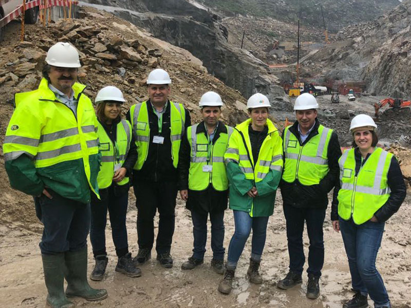 Executivo Municipal visitou obras das barragens